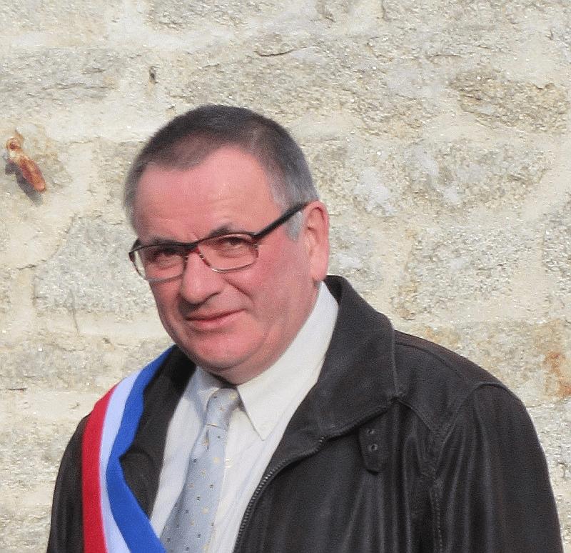 Jean-Luc Grandin maire de Billio