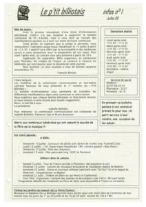 P'tit Billiotais n°100 décembre 2016