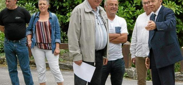 Le sous-préfet de Pontivy Mikaël Doré en visite mercredi