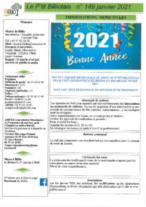 P'tit Billiotais n°149 janvier 2021