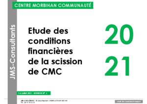 Annexe ETUDE FINANCIERE scission CMC