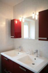 Salle de bain gîte Le Gallou