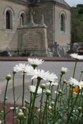 Vue du monument aux morts de Billio
